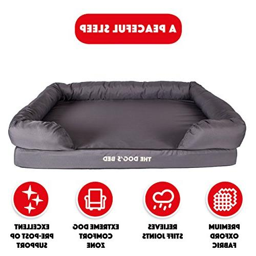 The Bed, Orthopedic Premium Waterproof Dog 3 3 Colors, Arthritis & Pain, Therapeutic & Supportive, Removable &