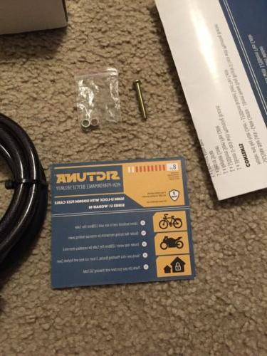 Sigtuna Bike + Cable 1200mm Steel