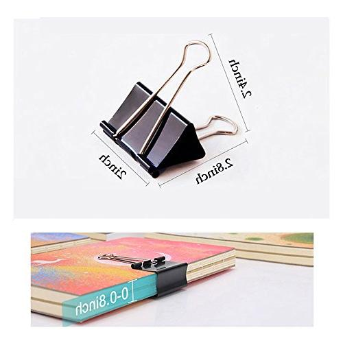 Coofficer Clips 2-Inch Paper for Office Supplies,