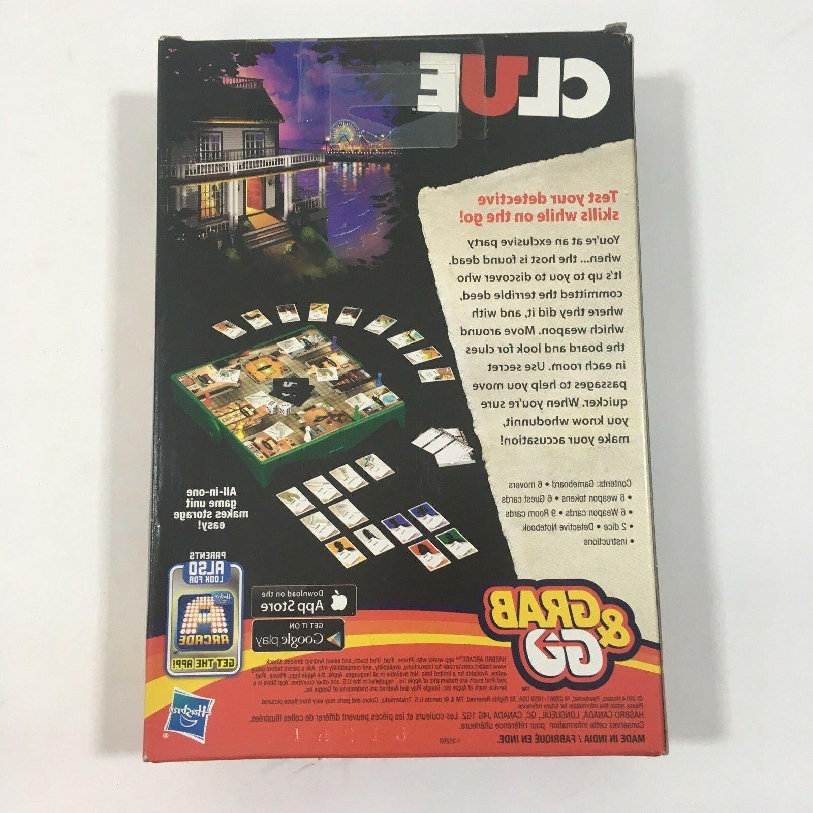 Hasbro Clue Grab and Go Game