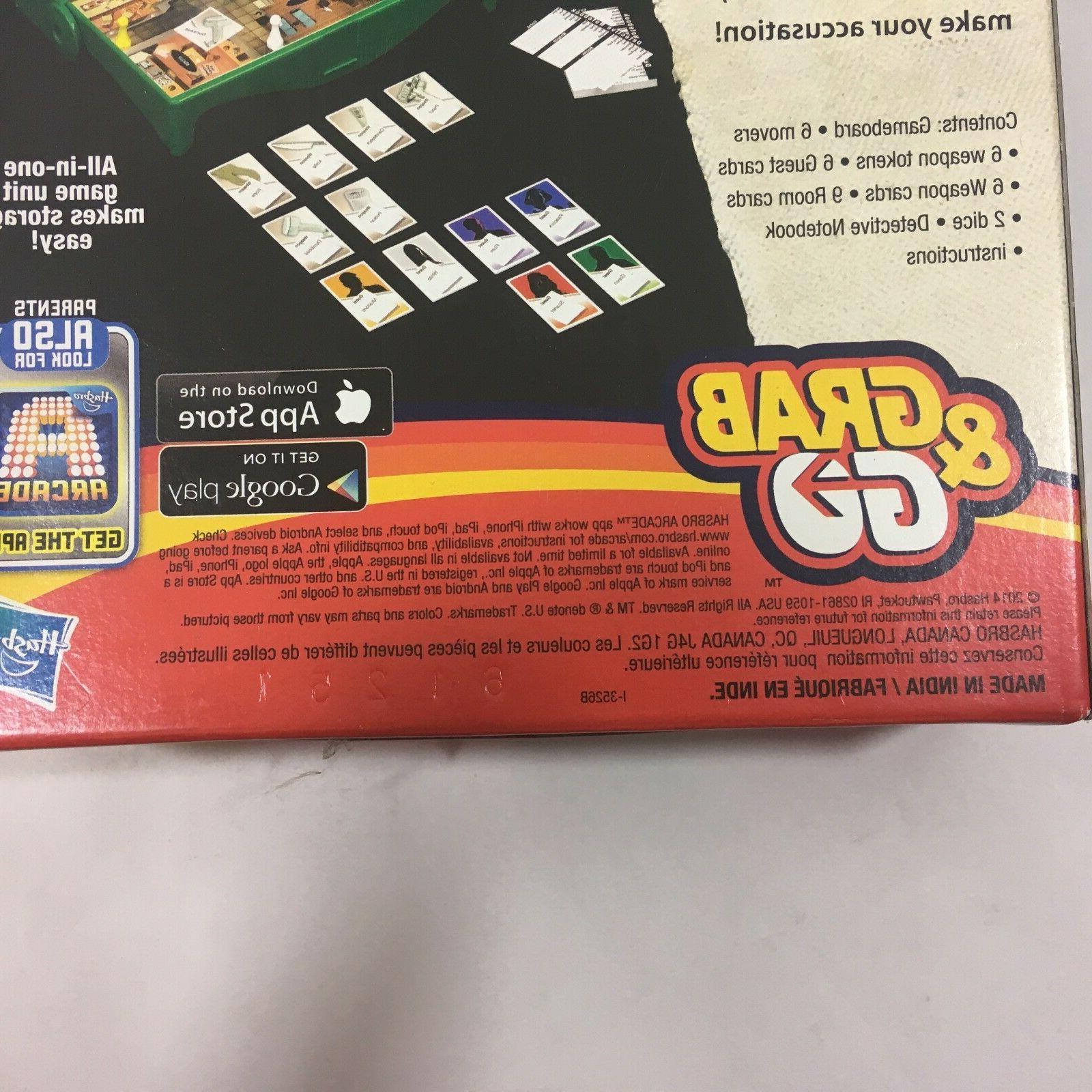 Hasbro Clue Go