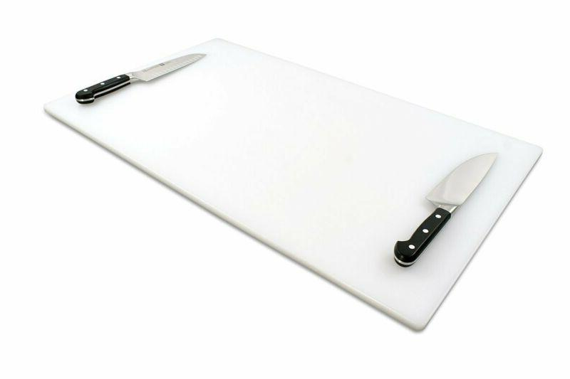 commercial plastic cutting board extra large 30