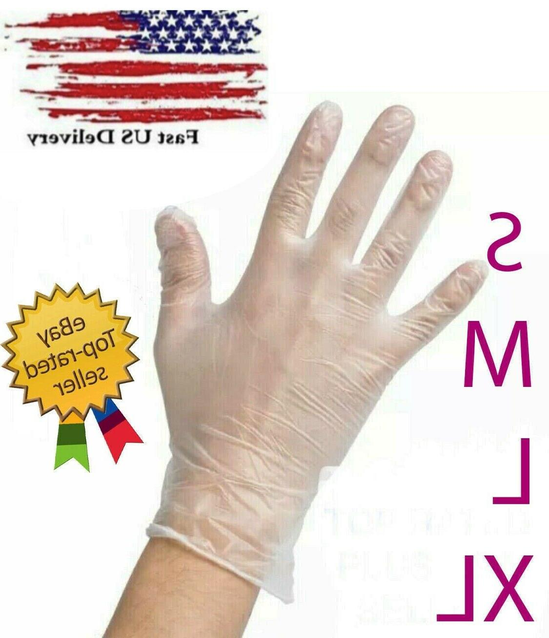 disposable vinyl gloves powder free latex free