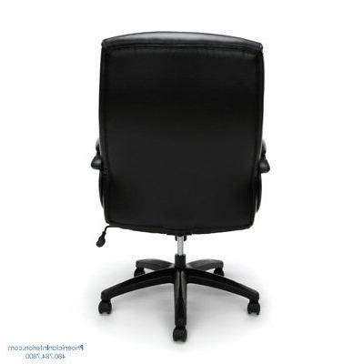 EXTRA LARGE CHAIR Big 350 LBS Black Leather