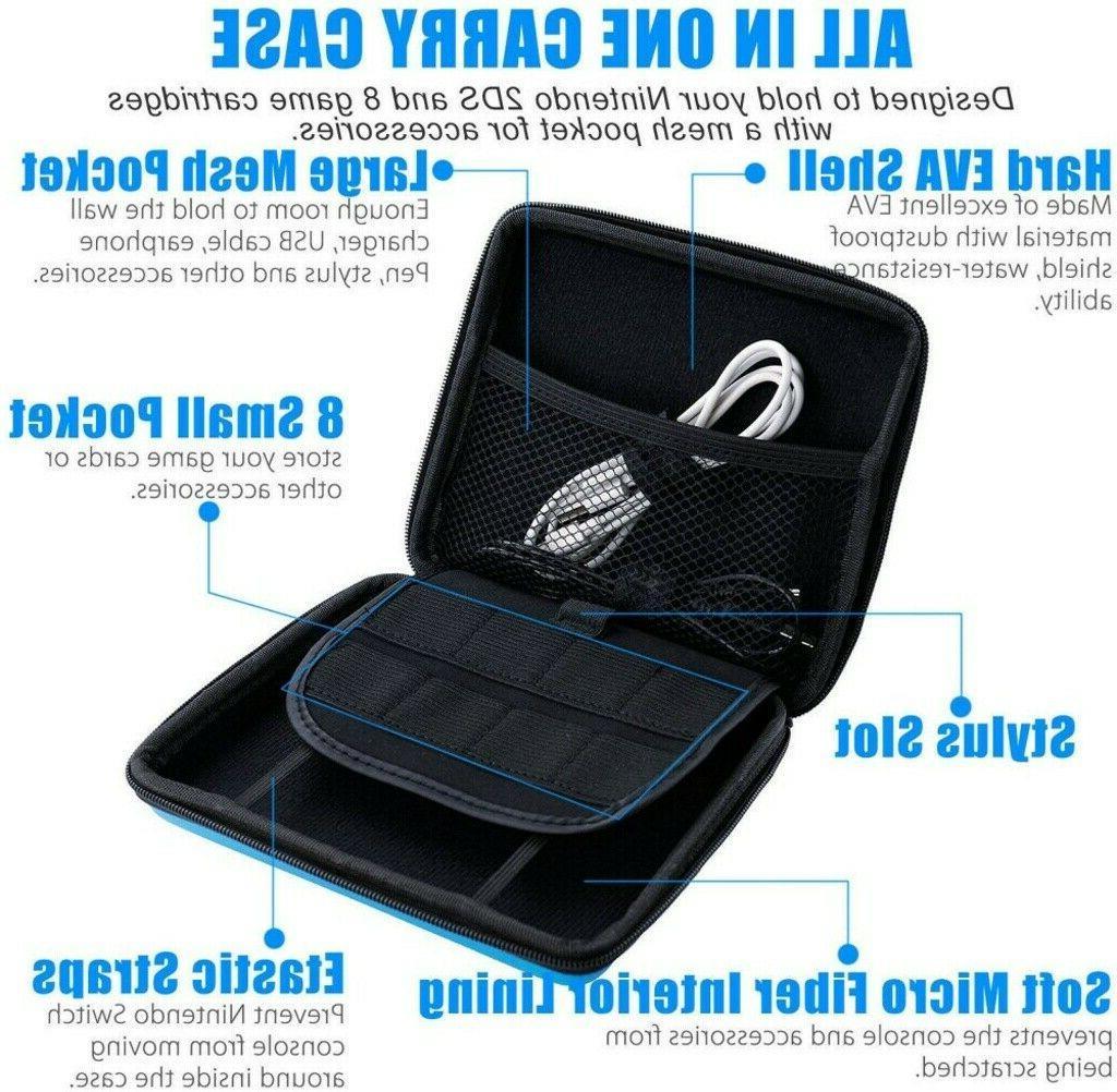 Extra EVA Shell Case Travel Bag Nintendo 2DS