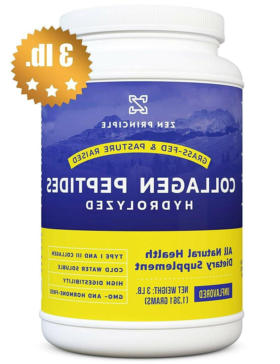 Extra Large Grass-Fed Peptides lb. Anti-Aging