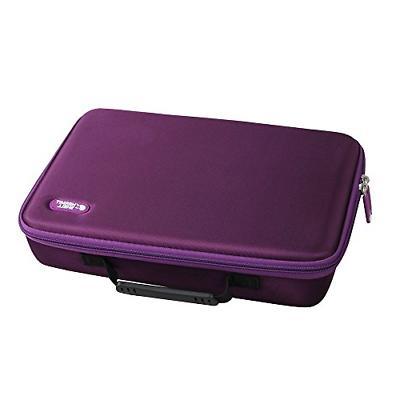 extra large hard eva travel case fits