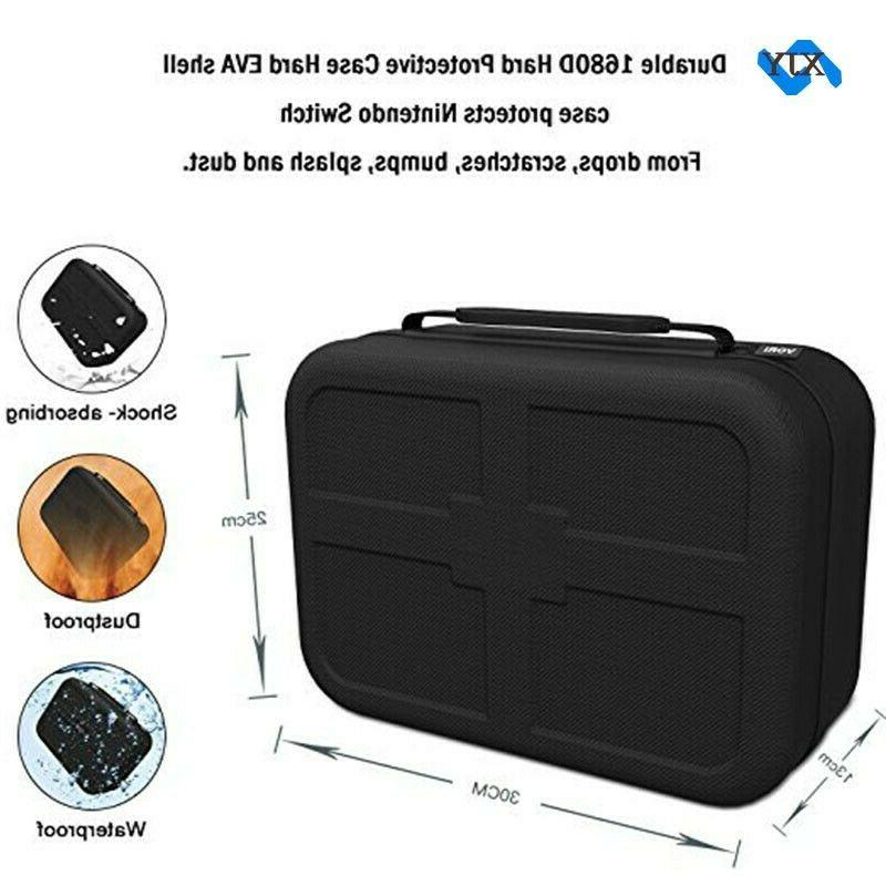 Extra Large Hard Game Case For Switch 23 Slots