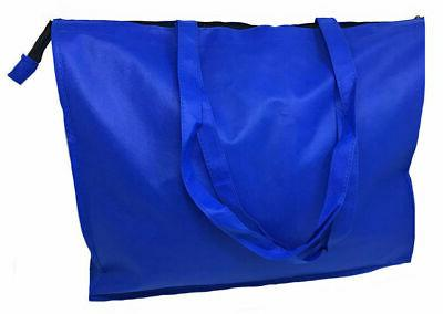 "20"" Extra Eco Friendly Grocery Tote Zipper"