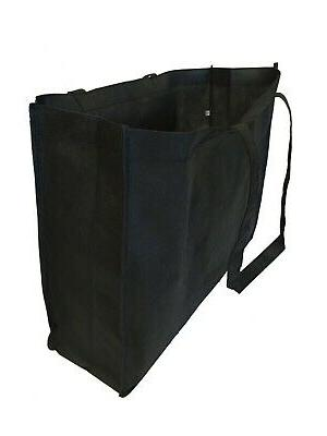 "20"" Recycled Eco Friendly Grocery Shopping Tote Bag Zipper"