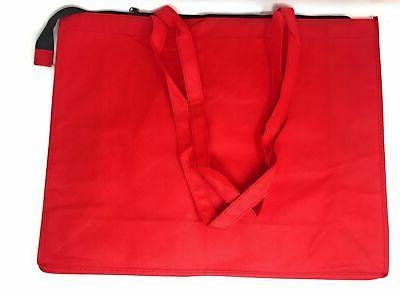 "20"" Large Eco Tote Bag Book Zipper"