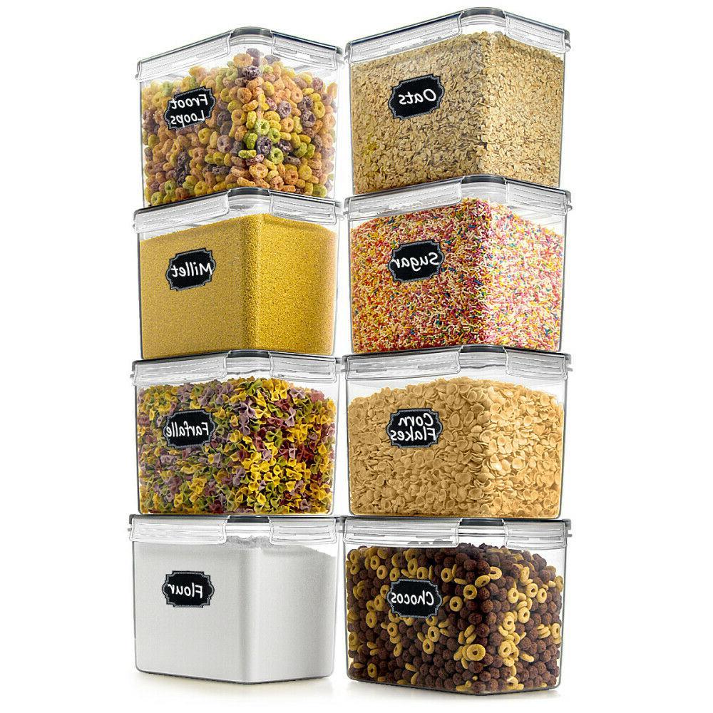 extra large wide deep food storage airtight