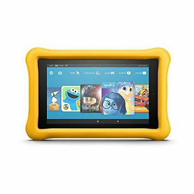 Fire Kids Tablet, Display, GB, Yellow - (Previous
