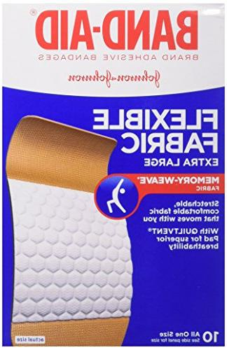 flexible fabric adhesive bandages
