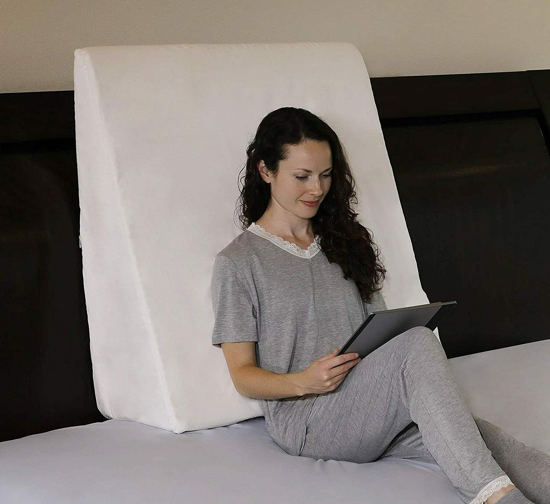 foam wedge bed pillow w