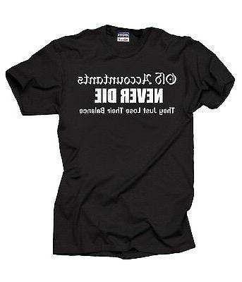 funny accountant t shirt balance sheet shirt