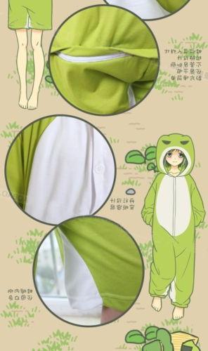 Game Frog Kigurumi Sleepwear Unisex Jumpsuit