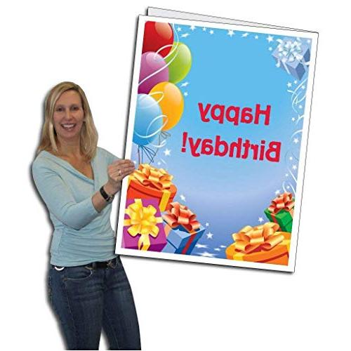 VictoryStore Greeting Cards: Giant Birthday , 2' x 3' card with
