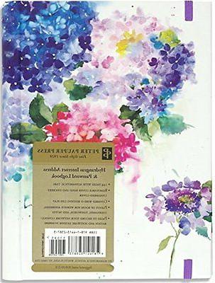 Hydrangeas Large Internet Password Online Organizer