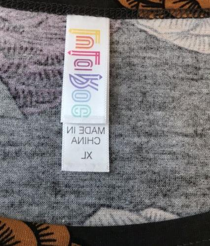 LuLaRoe Irma Shirt XL Extra Rust NWT
