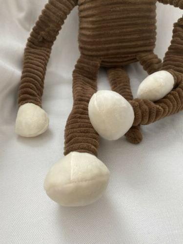 ZippyPaws Large Crinkle Monkey Plush