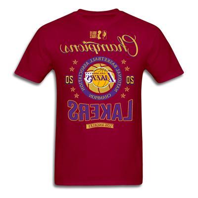 Los Angeles Lakers NBA Finals Champions T-shirt size