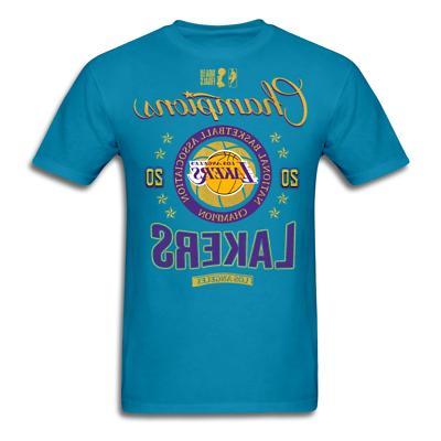 Los Angeles NBA Finals T-shirt size
