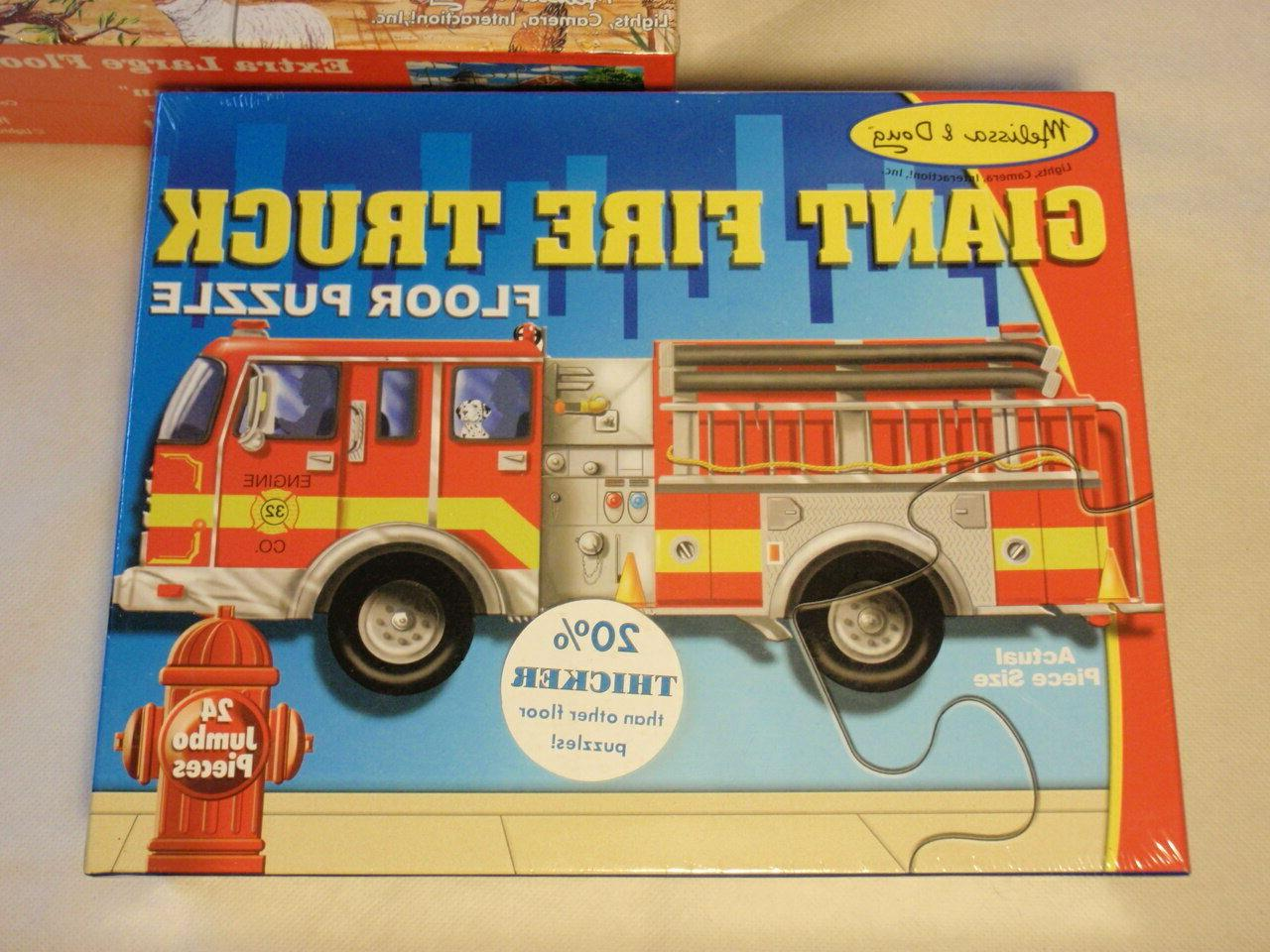 Lot 3 Doug Extra Large Puzzles: Truck