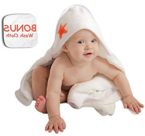 luxurious hooded towel