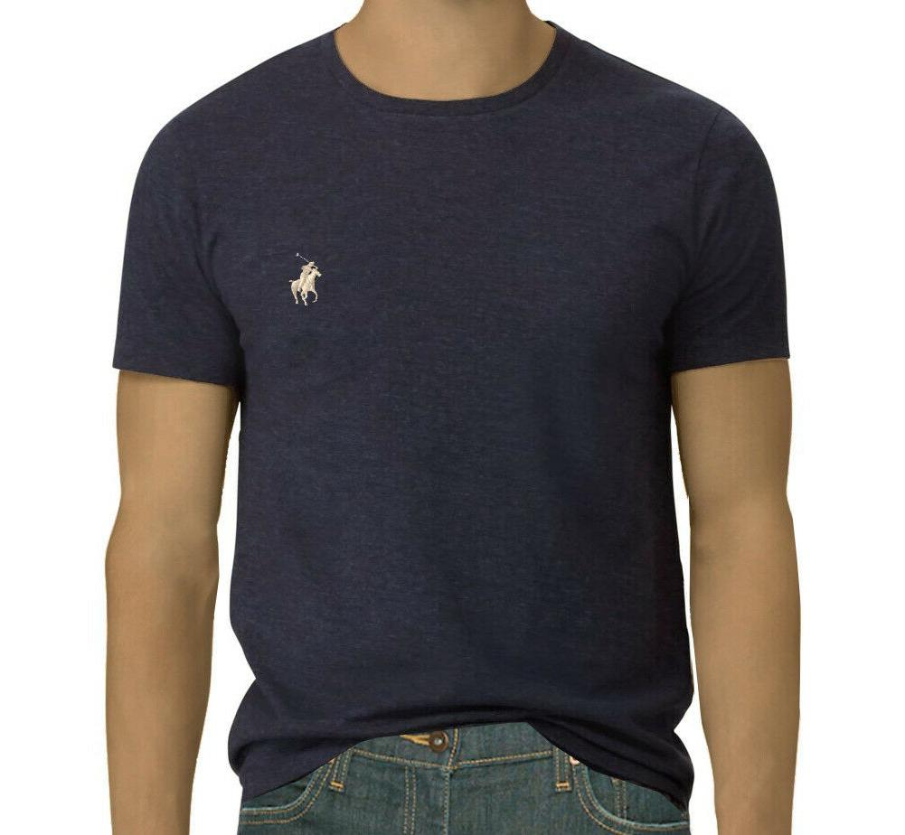 Men Ralph Crew Custom Slim Fit T-Shirt: S-M-L-XL-2XL