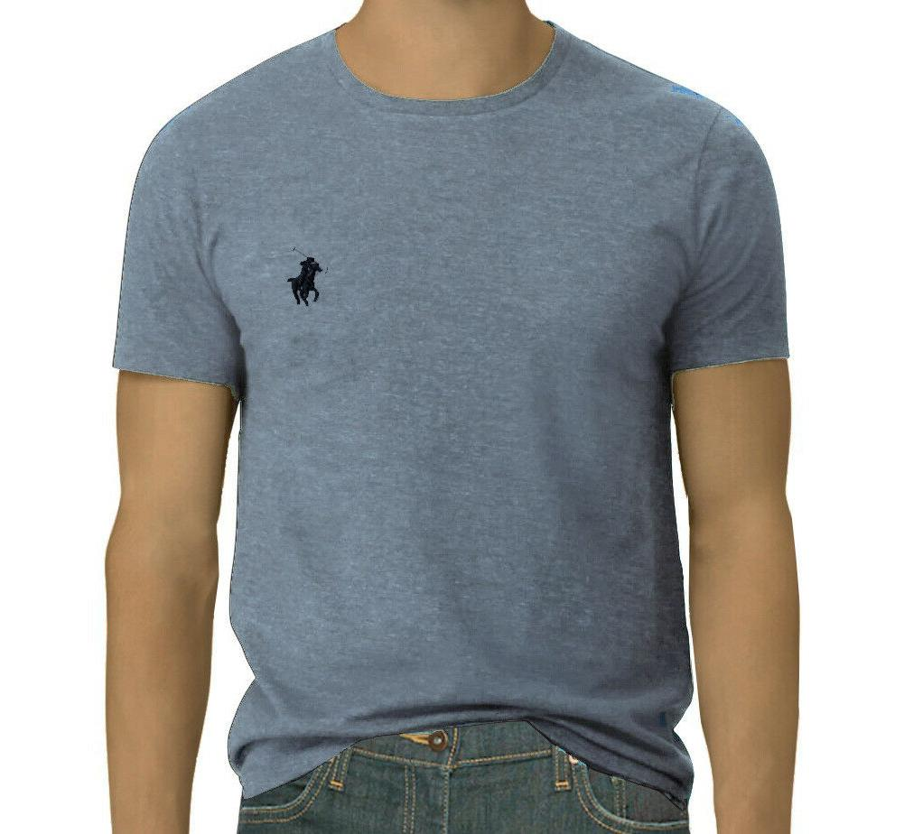 Men Lauren Polo Crew Neck Fit T-Shirt: S-M-L-XL-2XL