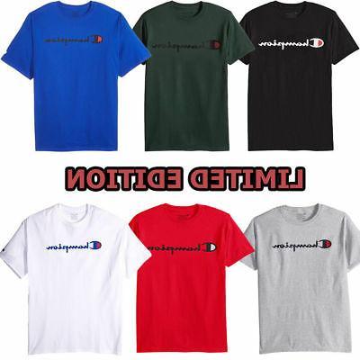 men s classic jersey script t shirt