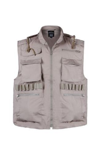 MENS Army Military Game Camping Vest