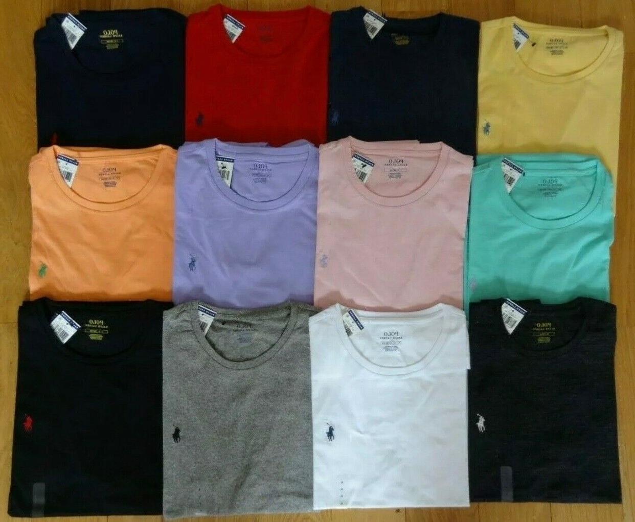 Polo Lauren T Shirt Brand With NECK Tee S XL