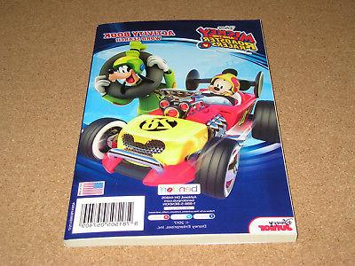 Mickey Racers Activity Search Jr. Brand New