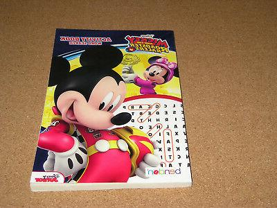 mickey and the roadster racers activity book