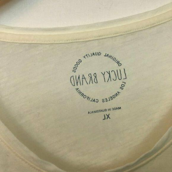 NEW Ocean Beach Sleeve Graphic Tee Extra Large