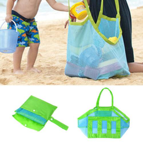 New Large Away Tote Beach Toys Mesh