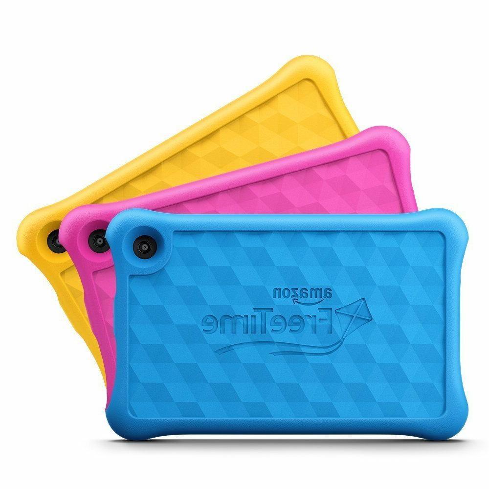 NEW Fire Kids Edition Tablet Display, 16 Bundle