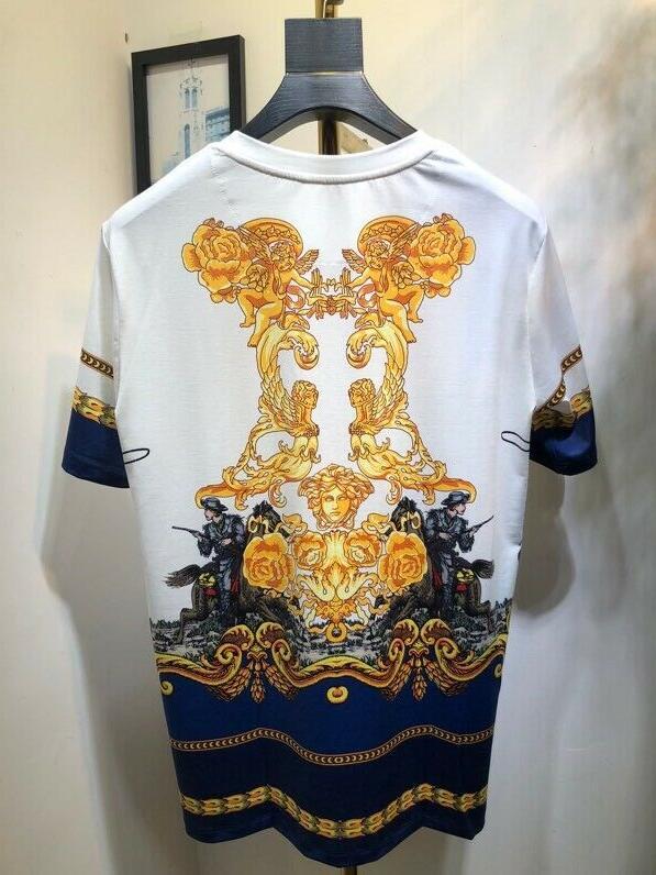 New Versace Medusa Avatar Short T-shirts M-2XL