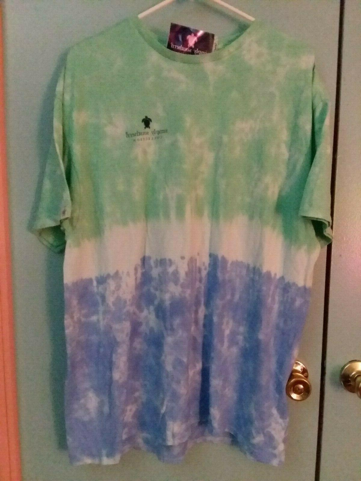 NWT Simply Southern Sleeve XL T Women's Turtle Rescue Large