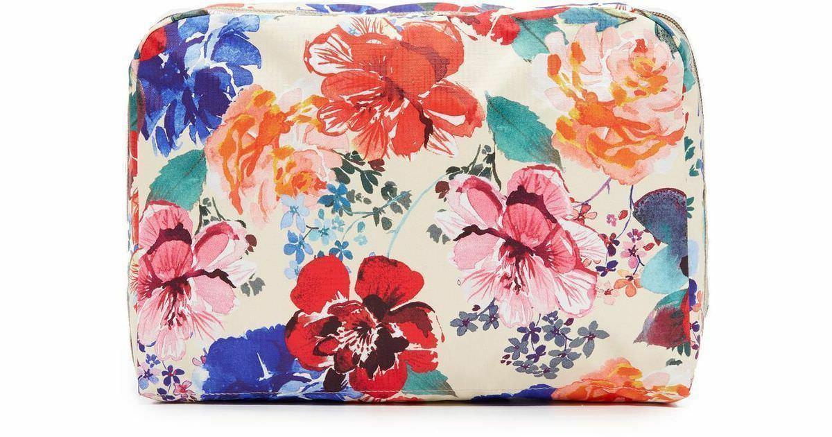 nwt xl essential rectangular romantics cream floral