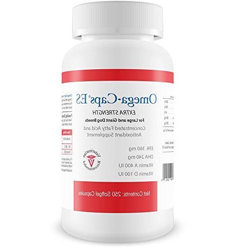Pet Health ES & Giant Vitamins, Support Heart - 250 Softgel Capsules