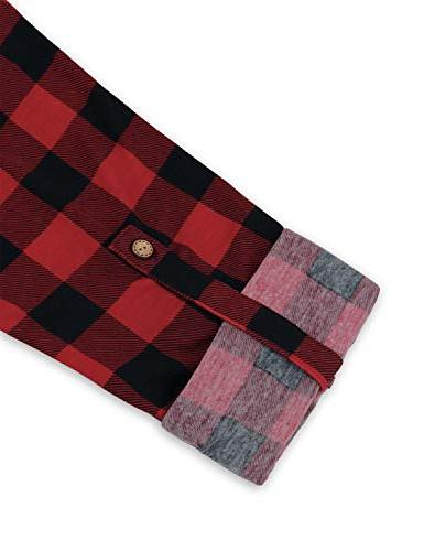 MOQIVGI Red Plaid Women,Prime Womens Clothing V Button Office 2018 Casual Tunic Red
