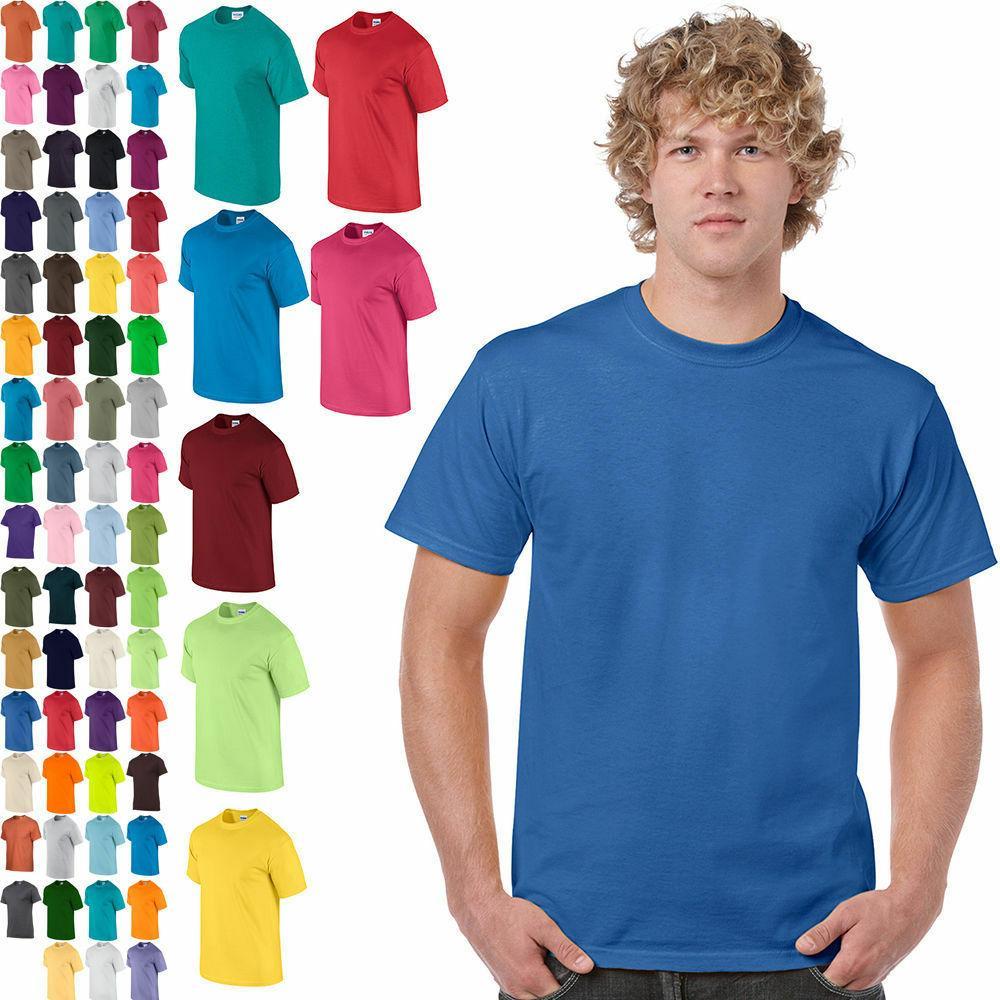 plain cotton t shirt short sleeve solid