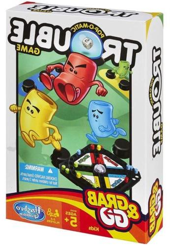 Hasbro Trouble Go Game By Hasbro