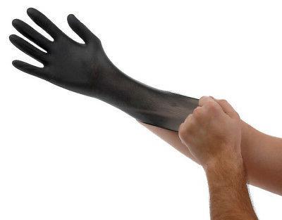 powder free nitrile gloves 100pk extra large