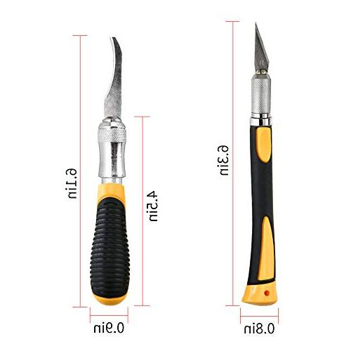 Precision Set Including Size Precision Blades Cutting, Stencil