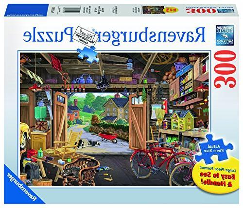ravensburger grandpas garage 300 large puzzle