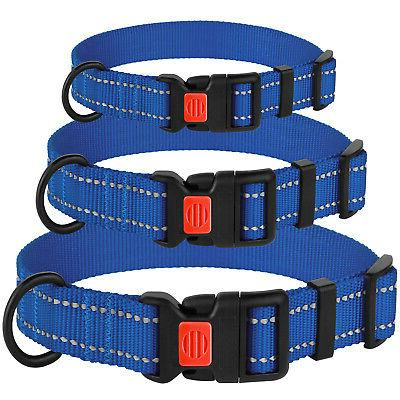 Reflective Collar Set Puppy Dog Collars for Small
